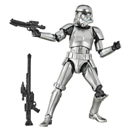 Hasbro Star Wars Black Series Carbonized Stormtrooper Action Figure